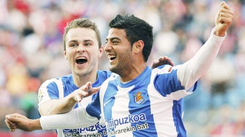 Nhan dinh Sociedad vs Gijon 01h45 ngay 114 (La Liga 201617) hinh anh