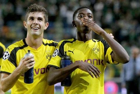 Sao Dortmund xac nhan duoc Barcelona quan tam hinh anh