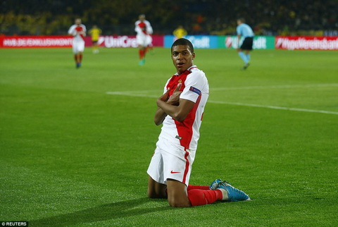 Tien dao Mbappe xac nhan se roi Monaco hinh anh