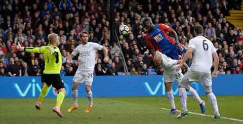 Tong hop Crystal Palace 2-2 Leicester (Vong 33 NHA 201617) hinh anh