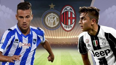 Nhan dinh Pescara vs Juventus 20h00 ngay 154 (Serie A 201617) hinh anh