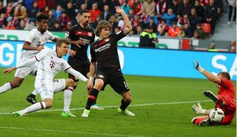 Tong hop Leverkusen 0-0 Bayern Munich (Vong 29 Bundesliga 201617) hinh anh