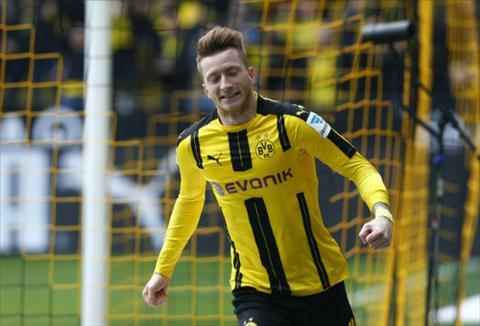 Dortmund 3-1 Frankfurt Marco Reus no sung ngay man tai xuat hinh anh