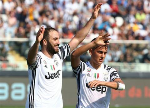 Pescara 0-2 Juventus Mot minh sat thu Higuain tieu diet doi cuoi bang hinh anh