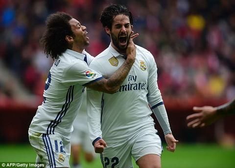 Real Madrid chien thang nho su toa sang ca nhan cua Isco.