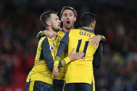 Wenger thua nhan chon chien thuat bua cho Arsenal hinh anh