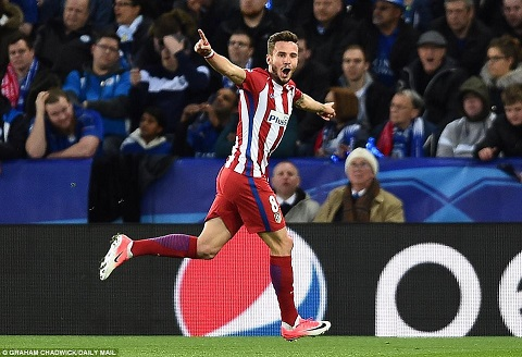 MU hoi mua tien ve Saul Niguez cua Atletico Madrid hinh anh 2