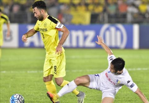 AFC Cup 2017 Hoang Vu Samson bi duoi, Ha Noi FC thua vo mat tren dat Philippines hinh anh