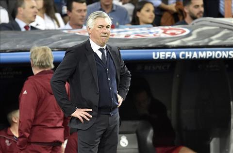 Bayern thua dau Real, HLV Ancelotti lon tieng chi trich trong tai hinh anh