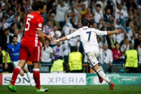 Zidane het loi ca ngoi Ronaldo sau chien thang Bayern  hinh anh