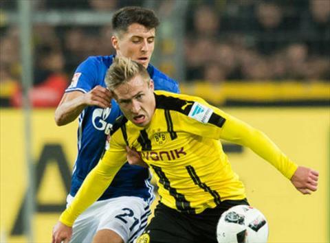 Tong hop Schalke 1-1 Dortmund (Vong 26 Bundesliga 201617) hinh anh