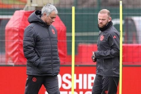 Mourinho va Wayne Rooney