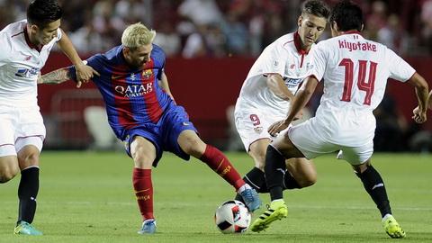 Sevilla la CLB bi Lionel Messi pha luoi nhieu nhat.