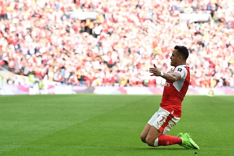 Wenger Alexis Sanchez chinh la Arsenal hinh anh