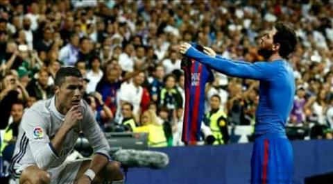 Man an mung cua Messi o El Clasico tro thanh trao luu moi tren Internet hinh anh 2