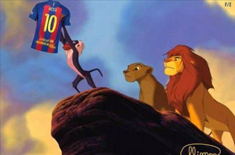Man an mung cua Messi o El Clasico tro thanh trao luu moi tren Internet hinh anh 5