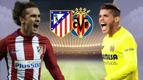 Nhan dinh Atletico Madrid vs Villarreal 02h30 ngay 264 (La Liga 201617) hinh anh