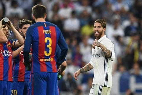 Sergio Ramos nguy co bi phat nang ngang Neymar hinh anh