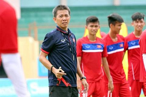 HLV Hoang Anh Tuan van la so 1 o U20 Viet Nam hinh anh