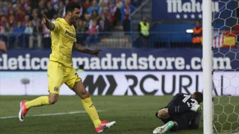 Tong hop Atletico Madrid 0-1 Villarreal (Vong 34 La Liga 201617) hinh anh