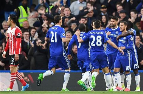 Thong ke Chelsea 4-2 Southampton Tuyet voi Diego Costa hinh anh