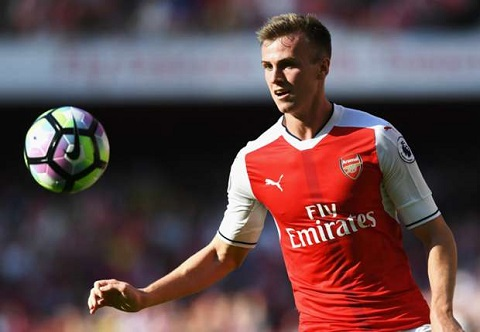Trung ve Rob Holding Tuong lai cua Arsenal va DT Anh hinh anh