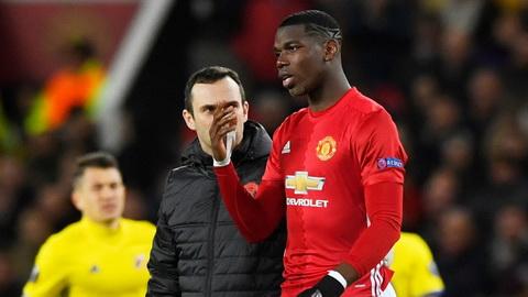 Paul Pogba chac chan khong ra san trong tran derby Manchester.