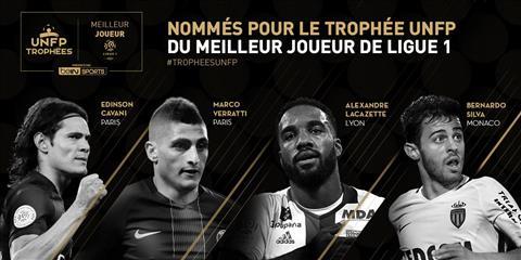 Cau thu xuat sac nhat Ligue 1 mua 201617 Cavani dau Verratti hinh anh