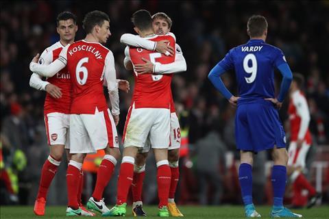 HLV Wenger Arsenal xep sau Tottenham thi da sao hinh anh