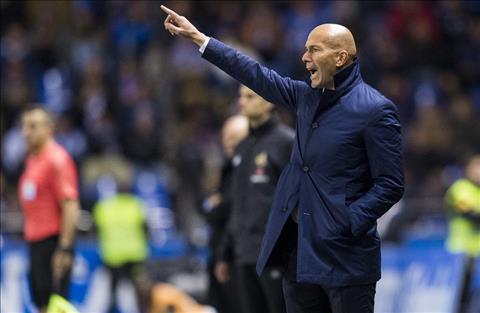 Huy diet Deportivo, HLV Zidane khen ngoi kep phu cua Real hinh anh