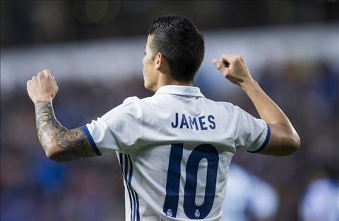 Du am Deportivo 2-6 Real James Rodriguez chung to gia tri hinh anh 2