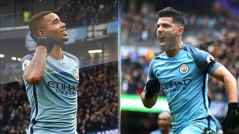 Man City vs MU Pep co the su dung ca Jesus va Aguero hinh anh 2