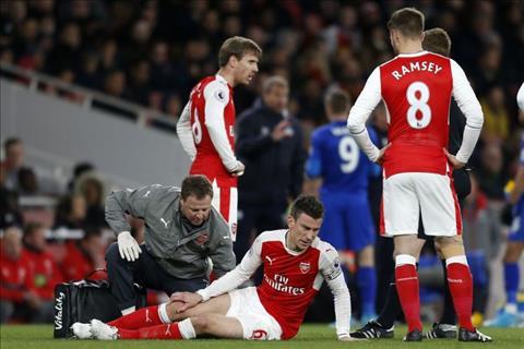 Arsenal mat tru cot hang thu sau tran thang Leicester hinh anh