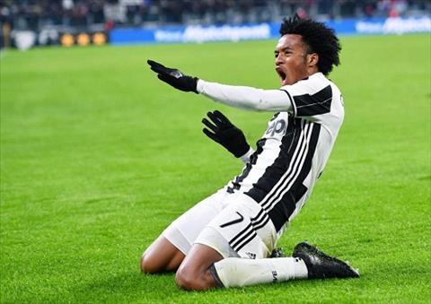 Juan Caudrado de lo ao dau Juventus mua giai 201718 hinh anh