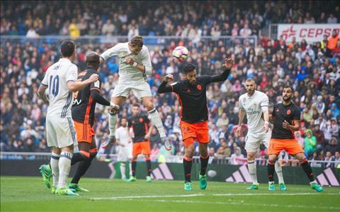 Nhung thong ke an tuong tran Real 2-1 Valencia hinh anh