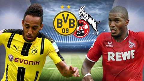 Nhan dinh Dortmund vs Cologne 20h30 ngay 294 (Bundesliga 201617) hinh anh