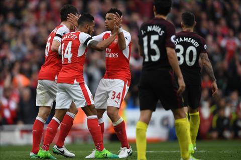 Arsenal 2-2 Man City Chi tien bo la chua du… hinh anh 2