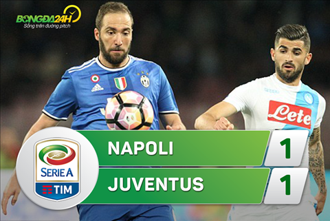 Tong hop Napoli 1-1 Juventus (Vong 30 Serie A 201617) hinh anh