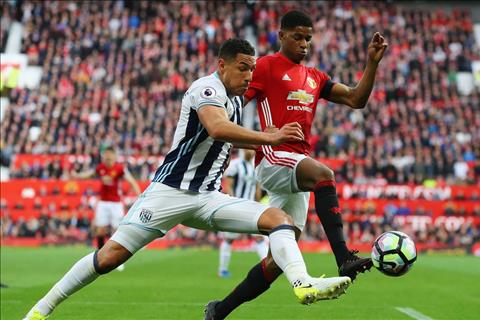 M.U vs West Brom Rashford