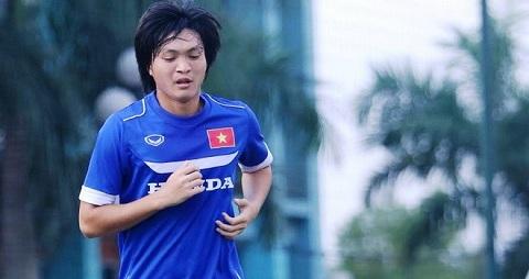 Tuan Anh binh phuc chan thuong, san sang tro lai trong tran gap U20 Argentina hinh anh