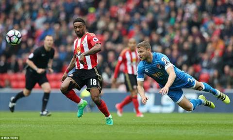 Tong hop Sunderland 0-1 Bournemouth (Vong 35 NHA 201617) hinh anh