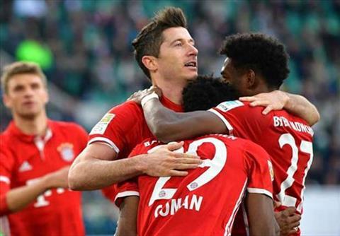 Tong hop Wolfsburg 0-6 Bayern Munich (Vong 31 Bundesliga 201617) hinh anh