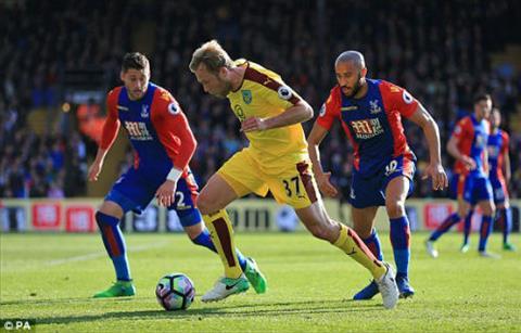 Tong hop Crystal Palace 0-2 Burnley (Vong 35 NHA 201617) hinh anh