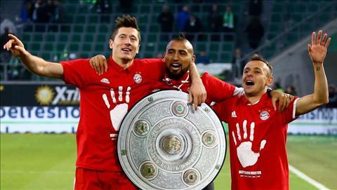 Bayern Munich vo dich Bundesliga 201617 hinh anh 2