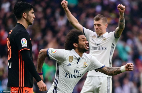 Du am Real Madrid 2-1 Valencia Man tong duyet thot tim hinh anh 2