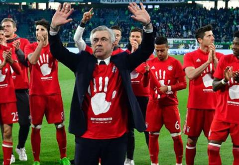 Bayern Munich vo dich Bundesliga 201617 hinh anh