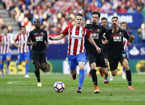 Tong hop: Las Palmas 0-5 Atletico Madrid (Vong 35 La Liga 2016/17)