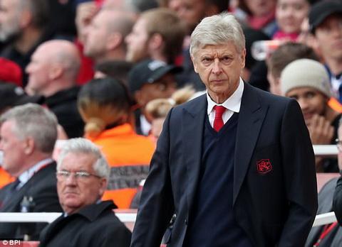 Arsene Wenger bi chi trich sau nhung ket qua dang that vong thoi gian qua.