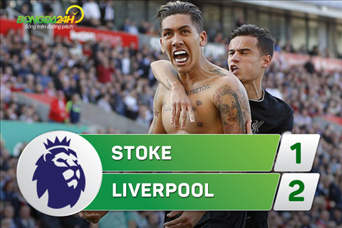 Stoke 1-2 Liverpool (Vong 32 NHA 2016/17)