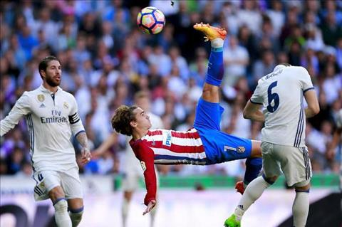 Ramos danh tieng chao moi Griezmann gia nhap Real hinh anh